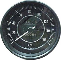 25050-25601 67 Datsun 2000 Speedometer from Rallye Roadster