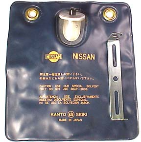 Datsun Roadster Washer Bag & Bracket